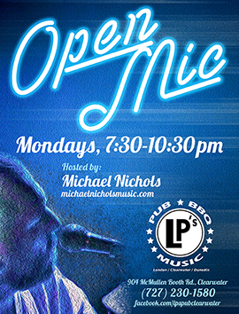 LPs Open Mic Poster Image Link