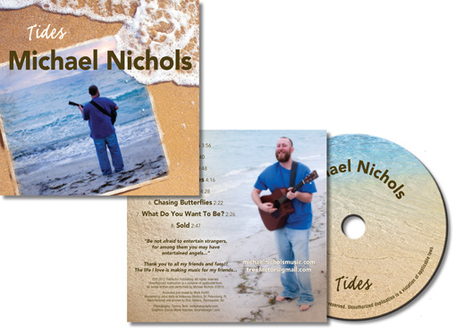 Mchael Nichols Music Tides CD image and link