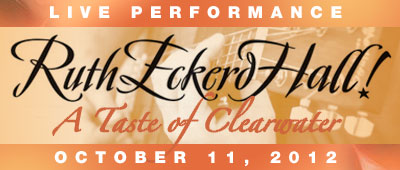 Ruth Eckerd Hall Taste of Clearwater Banner Ad and Link