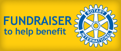 Rotary International Fundraiser Banner Ad and link